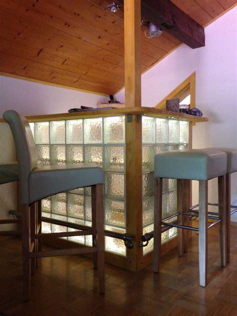 Ideen Mit Glasbausteinen by Steine Im Holzbalken On Wood Garden