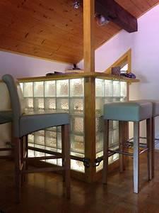DIY Bar Mit Glasbausteine DIY Bar Aus Glasbausteine
