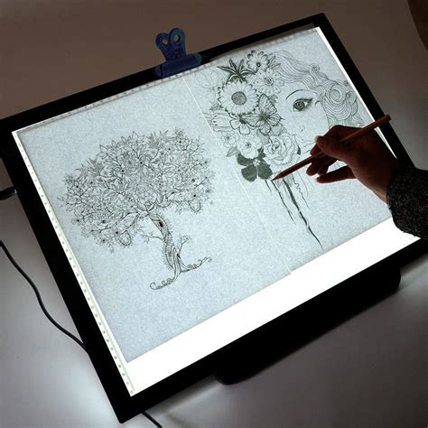 Artist Light Table by 19 Quot Led Artist Stencil Board Drawing Tracing Table