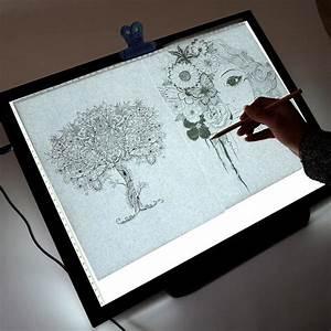 19 U0026quot  Led Artist Stencil Board Tattoo Drawing Tracing Table