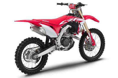 2019 Honda Crf Motocross Lineup First Look  Fast Facts On