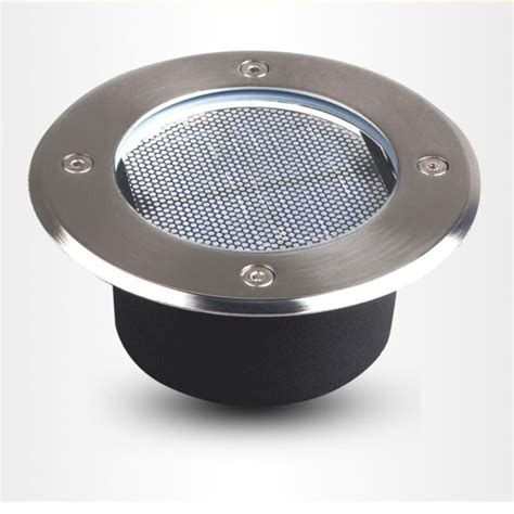 top rated led landscape lighting ip68 stainless steel ground buried solar deck light solar