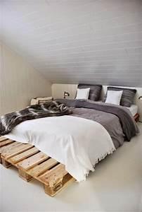 Fabriquer Un Lit En Palette : lit en palette 50 id es pour fabriquer un lit en palette ~ Dode.kayakingforconservation.com Idées de Décoration