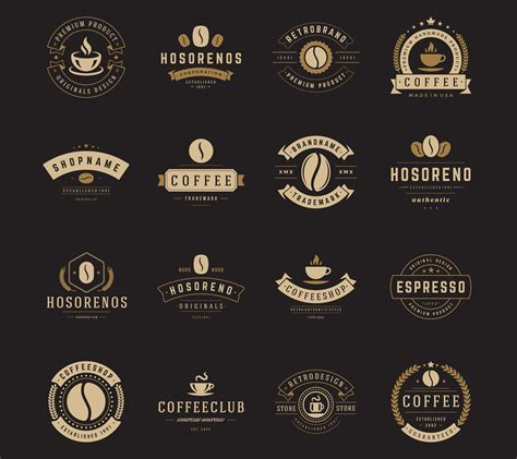 The following logos were collected from some of the best logo designers and interesting coffee subscription box designs based on high quality standards. 16 Coffee Logotypes and Badges ~ Logo Templates ~ Creative Market