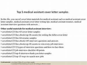 Top 5 Medical Assistant Cover Letter Samples Best Photos Of Medical Externship Thank You Letter Thank Medical Assistant Cover Letter Custom College Papers Agency Healthcare Assistant Resume Sales Assistant