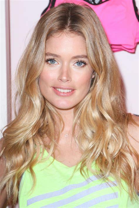check   victorias secret model doutzen kroes  gym eye makeup glamour