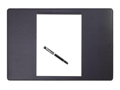 bureau cuir sous de bureau en cuir noir