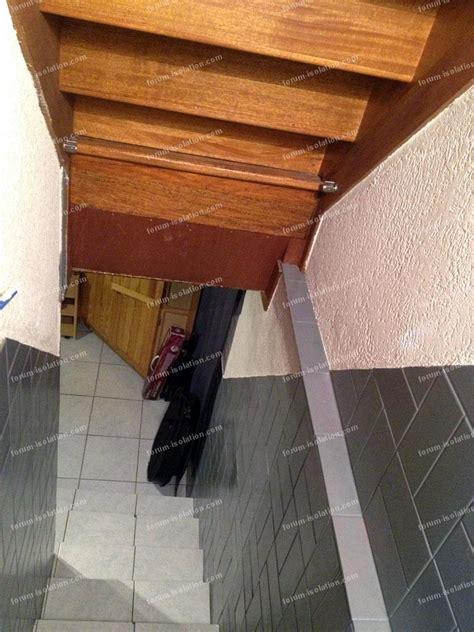 conseils isolation phonique d une mont 233 e d escalier isoler un sous sol dans lequel je joue de