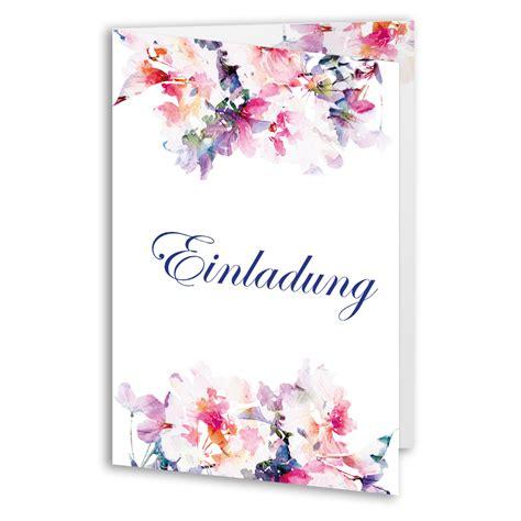 einladungen zum geburtstag rosen blumen klappkarten
