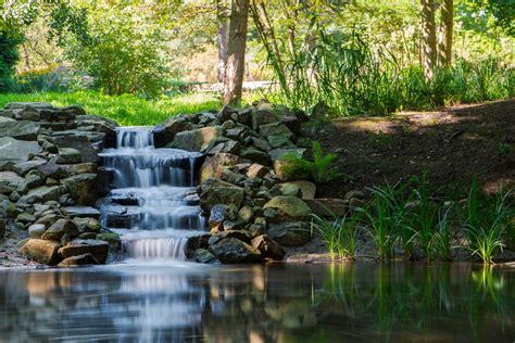 Botanischer Garten Bochum by Botanische Garten Bochum Wasserfall Foto Bild