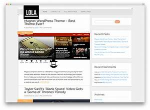 50 best free responsive wordpress themes 2017 colorlib With create blog page template wordpress