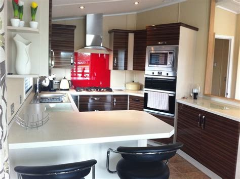 home renovation ideas interior static caravan kitchen modern kitchen south