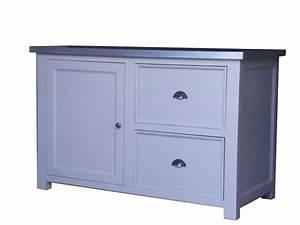 Meuble Bas Cuisine Pas Cher : meuble de cuisine zinc ~ Teatrodelosmanantiales.com Idées de Décoration