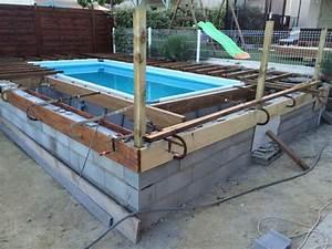 Preparation Terrain Pour Piscine Hors Sol Tubulaire : intex ultrasilver 5m49 enterr e piscines r alisations ~ Melissatoandfro.com Idées de Décoration