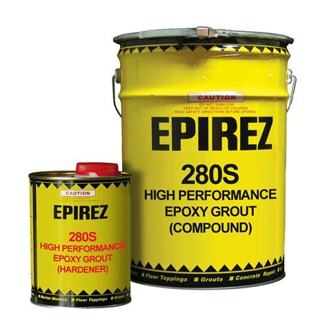 High Performance Epoxy Grout (280S)   EPIREZ