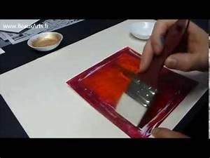 Comment Encadrer Une Toile : cours peinture acrylique 9 tutoriel pigments sur toile youtube ~ Voncanada.com Idées de Décoration