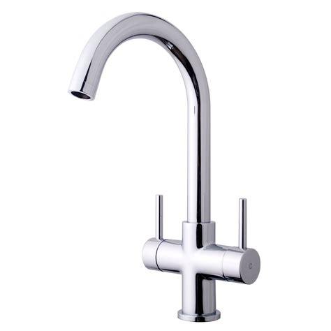 kitchen sink taps b and q cooke lewis zale chrome finish kitchen monobloc tap 9577