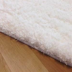 tapis sur mesure blanc doux et moelleux With tapis blanc doux