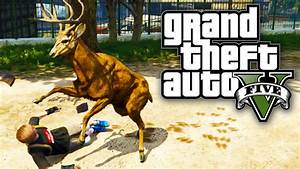 GTA 5 - PLAY AS ANIMALS! / DOGS, DEER & MORE! (GTA V PS4 ...