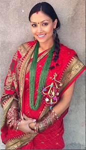 девушка Непал традиционный костюм / Nepali traditional ...
