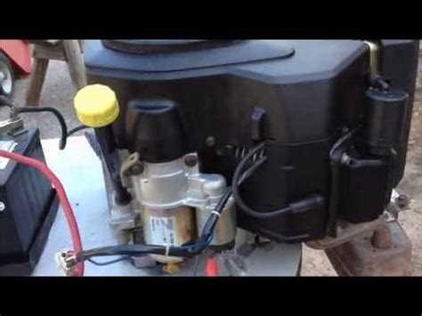 encore  hp kohler  twin cold start funnydogtv