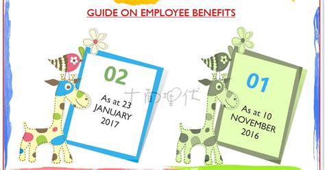 Guide On Employee Benefits『25.1.2017』