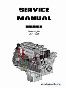 Liebherr D934    D936 Diesel Engine Service Manual Pdf