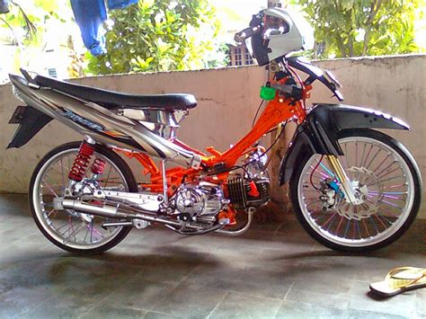 Modivikasi Mx by Modifikasi Motor Jupiter Z Racing Thecitycyclist