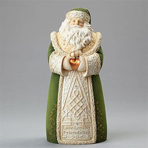 irish santa claus figurines  christmas