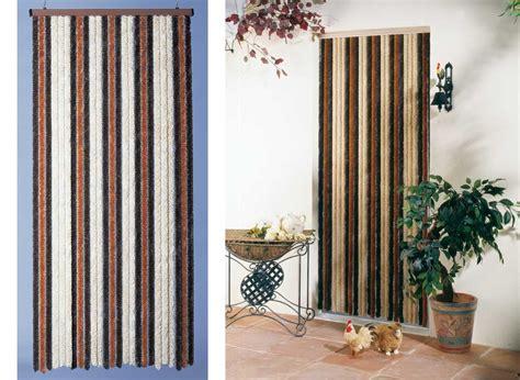 rideau de porte moustiquaire chenille florence jardideco