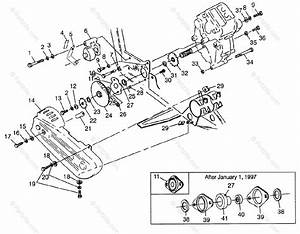 Polaris Atv 1997 Oem Parts Diagram For Gearcase  Brake