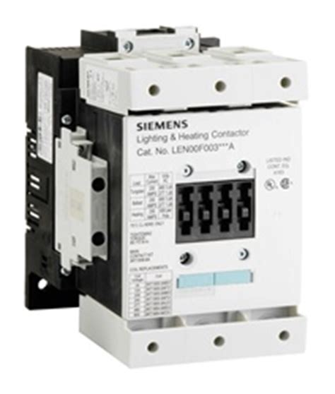 siemens lighting contactor find siemens len00f003120a lighting contactor at guardian