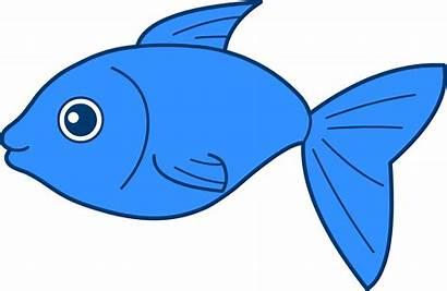 Fish Clipart Cartoon Character Happy Fancy Vector