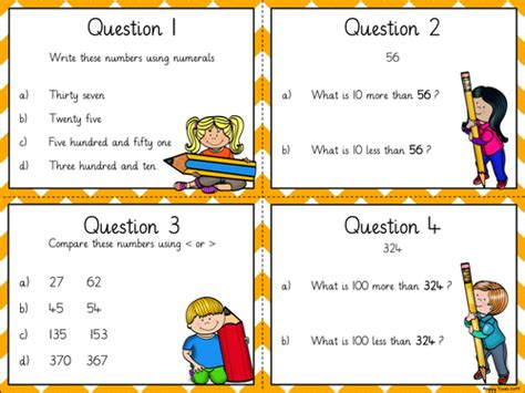 place value task cards year 3 by hoppytimes teaching