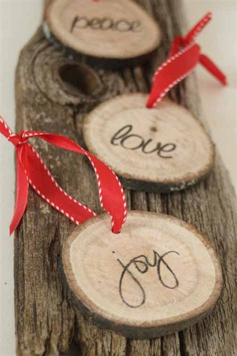 christmas tree decorated whith words 25 best ideas about country ornaments on
