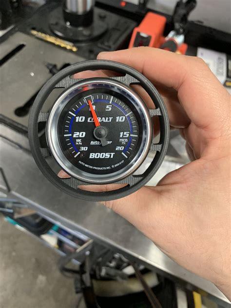 boost gauge  mounting options  mustang gt