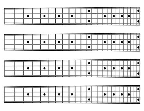 Upright Bass Neck Diagram