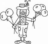 Clown Coloring Clipart Clip Circus Joker Funny Transparent Pages Drawing Cute Silly Carnival Background Cliparts Clowns Printable Erika Baby Sweetclipart sketch template