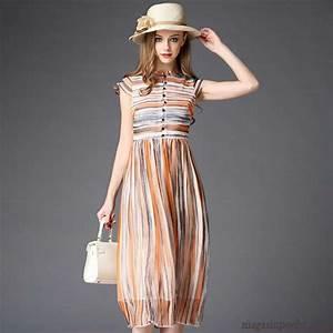 robe femme solde robe frais femme ete slim raye race soie With robe femme solde