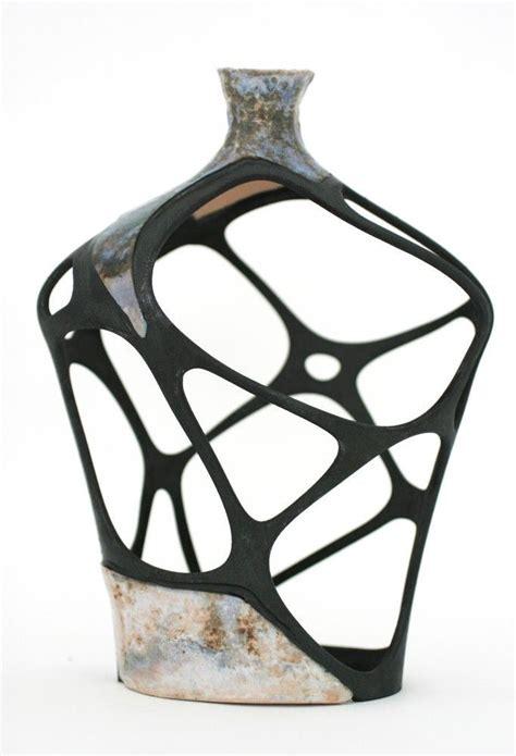 negative space ceramic vessel ceramic art contemporary