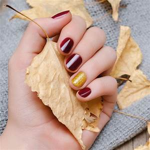 25 fall nail designs that use all of the lovely colors of