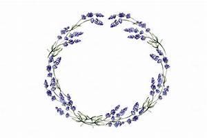 Lavender Flower Border Clip Art | Car Interior Design