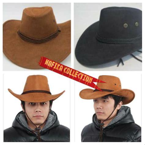 jual topi hat koboy cowboy koboi quot american style quot keren gaya gaul di lapak wafika