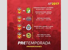Calendario del America apertura 2017 del futbol mexicano