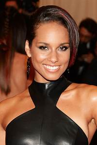 Alicia Keys Short Side Part Alicia Keys Short Hairstyles