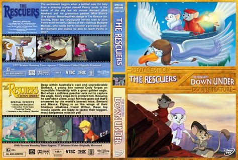 The Rescuers / The Rescuers Down Under Double