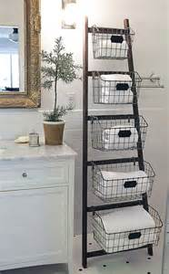Image result for wire baskets in the bathroom