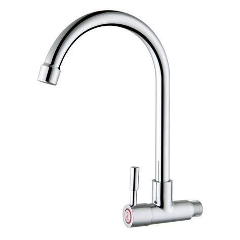 Cheap Wall Mounted Cold Water Only Copper Kitchen Faucet