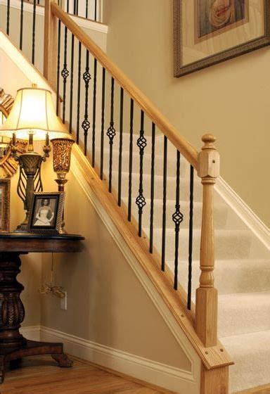 replacing a banister and spindles i want to replace my wooden spindles with iron now i
