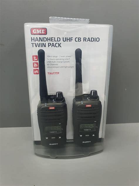 GME Handheld UHF CB Radio Twin Pack